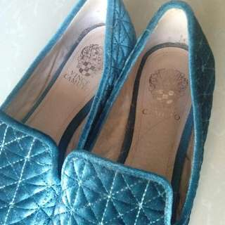 suede loafers (vince camuto)