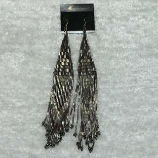 Aldo Multi- beaded drop 18cm Earrings