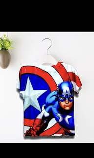 Brand new Captain America t shirt