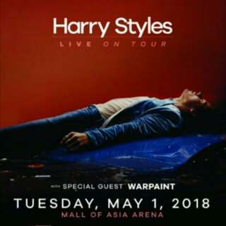 1 Harry Styles Live in Manila Gold Ticket