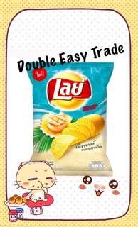 泰國入口版Lays帶子牛油味薯片