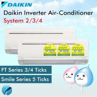 Air Conditioner Daikin Inverter System