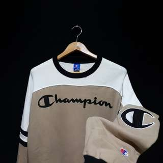 Sweatshirt sweater crewneck champiplon 2tone vintage