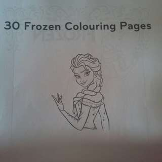 Budget colouring book
