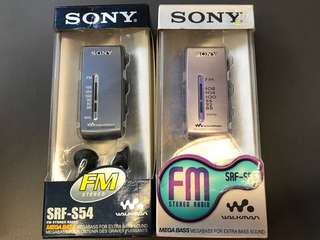 DSE收音機 sony