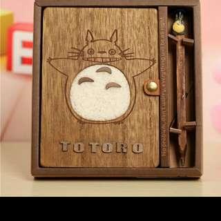 Pre- order Totoro Note Book