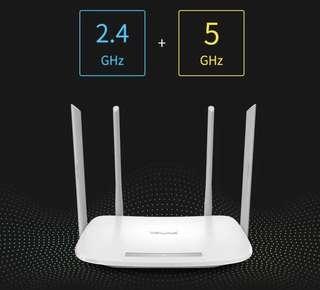 Wifi接收器,路由器,router TP-LINK無線路由器WIFI家用穿牆高速tplink光纖5G雙頻千兆WDR5620