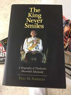 The King Never Smiles, Paul M. Handley