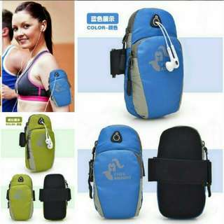 Phone Armband Pouch For Camping Hiking Running And Other Outdoor Sports Activities With Armband Strap.