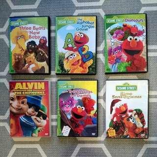 Sesame street Dvd- educational discovery