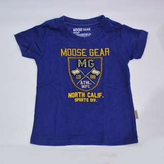 Moose Gear 18 mons - 3 y/o Navy Blue Flag Boys Tshirt Shirt