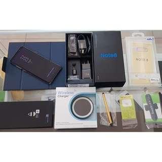 *典藏奇機*全新展示機-SAMSUNG三星 Note 8 雙卡雙待4G 6.3吋【6G+64G】防塵防水