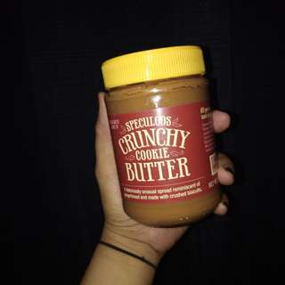TRADER JOES CRUNCHY COOKIE BUTTER