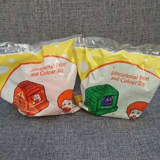 McDonald's happy meal toy set 90's