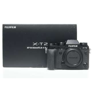 Fujifilm X-T2 Mirrorless Digital Camera Body (Black)