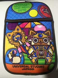 3DS Pouch LE Monster Hunter The Real 2016 USJ