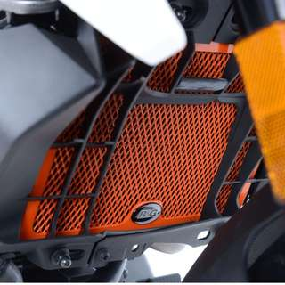 R&G Orange Radiator Guard KTM 125/200 Duke '2011 - 2017'