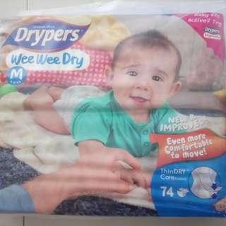 Drypers Wee Wee Dry (M74)