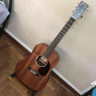 Martin Dreadnought Junior 2 w/ LR Baggs Anthem SL (Sapele) - FINAL PRICE