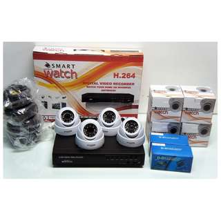 CCTV 720P HD package with 1TR Storage (4 Indoor HD Camera)