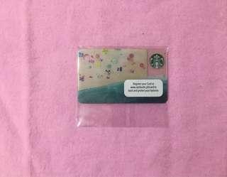 🇵🇭 Starbucks Philippines Mini Card Beach