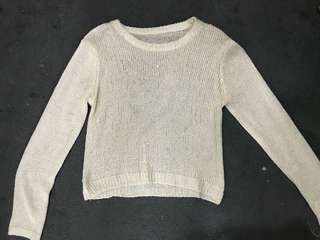 Knitted Sequinned Pull-over
