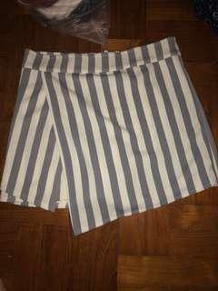 Stripes skort