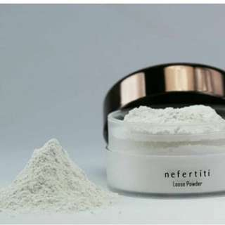 Nefertiti Paris Loose Powder Acne