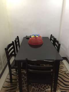 for sale sopa and dining table