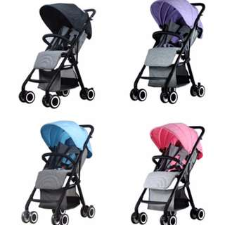 Baby Stroller Reaibaby 2/Reaibaby 2 Plus/Aiqi/Lightweight Stroller 4.9KG 5.8KG/Easy To Fold /Fully Recline/Baby Pram/Best Travel Stroller / Baby YOYO Baby YOYA