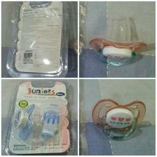 Take both avent & juniors pacifier