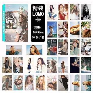 JESSICA JUNG LOMO CARDS 30 PCS