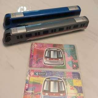 1998 東涌錢 機場快綫紀念車票 連列車