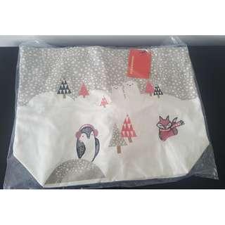 Starbucks Penguin Fox Bag
