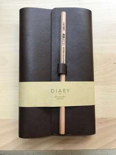 BN PU leather notebook - Free normal mail