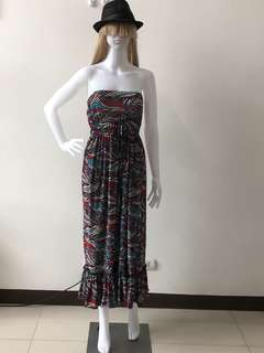Summer Dress Vintage Style (Actual Product)