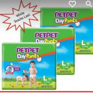 Pet Pet Day Pants Mega Pack (3 packs)