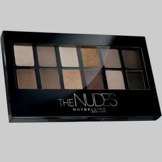 (reprice rp199k)Maybelline the nude eyeshadow palette black