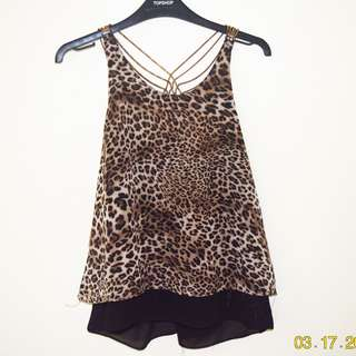 Leopard Backless