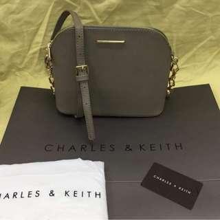 Charles & Keith Chain Sling Bag
