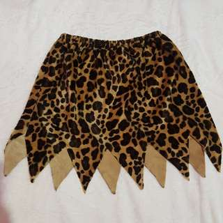Animal Print Jungle Inspired Skirt