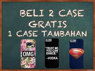 Beli 2 gratis 1 case tambahan