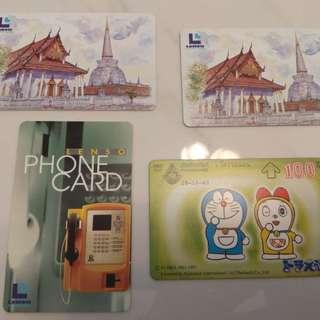 泰國舊電話卡