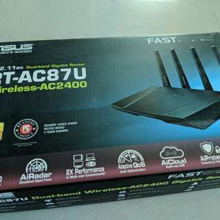 Asus wireless router AC87U