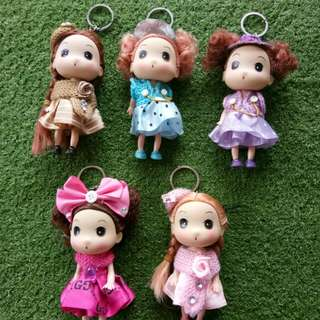 Boneka mini ( take all 5 pcs 85k )