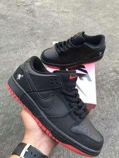 JORDAN 1 LOW BLACK