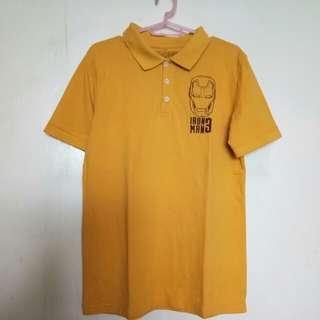 marvel ironman polo shirt