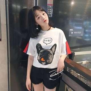 Dog oversized T-shirt