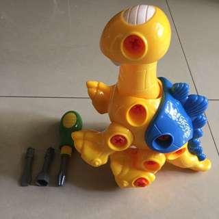 超好玩的益智兒童拆裝玩具組