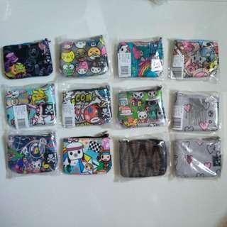 [Min Buy 2] Jujube Tokidoki Sanrio Various Coin Purses